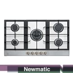 Newmatic Built in kitchen appliance kenya cooker hob PM950STX MID.jpg