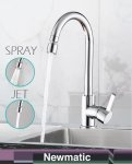 Newmatic kitchen tap T03F S.jpg