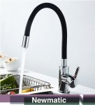 Newmatic T01MF Kitchen Flexi Mixer Tap