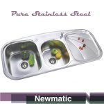 Newmatic Double 112 Kitchen Sink
