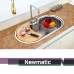 Newmatic Spring 86 Ultra Deep Bowl Kitchen Sink