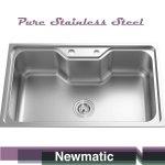 Newmatic Summer 78 Ultra Deep Bowl Kitchen Sink