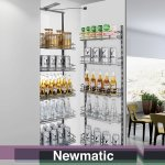 Newmatic Pull Out Pantry BK7060