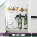 Newmatic Slim Drawer Basket BK1201