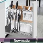 Newmatic Slim Drawer Basket BK2403