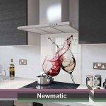 Newmatic Red & White Wine Splashback