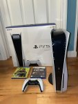 Selling new ps5 playstation 5
