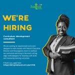 Curriculum development consultant needed