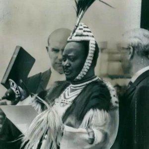 Kenya's first Vice President Jaramogi Oginga Odinga