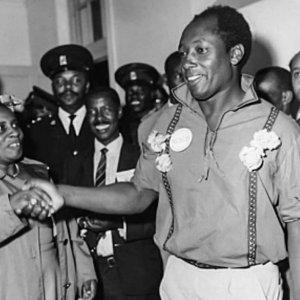 Jomo Kenyatta's eldest daughter