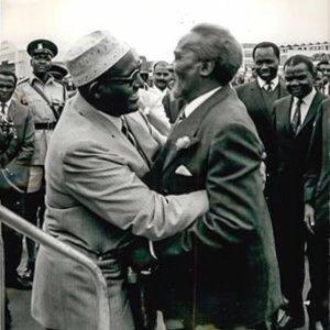 Mzee Kenyatta and Somalia's Ali Shermarke