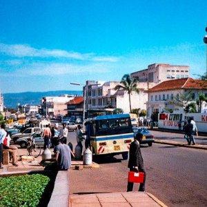 Kisumu street scene 1968