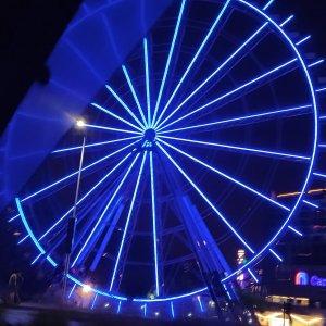 Two Rivers Mall Ferris Wheel - Night View3