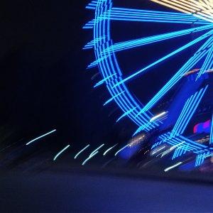 Two Rivers Mall Ferris Wheel - Night View5