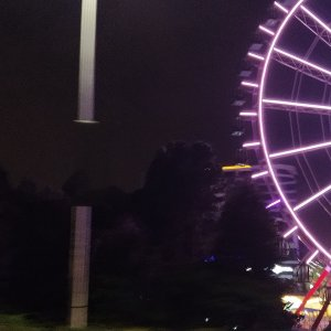 Two Rivers Mall Ferris Wheel - Night View6