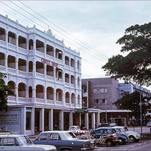 Castle Hotel, Mombasa, in 1967.